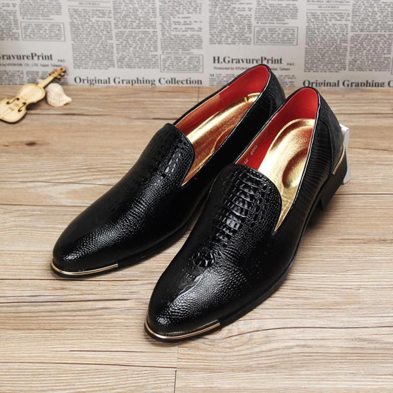 a51298d4805 New Designer Luxury Brand Oxford Shoes For Mens Pointed Toe Dress ...