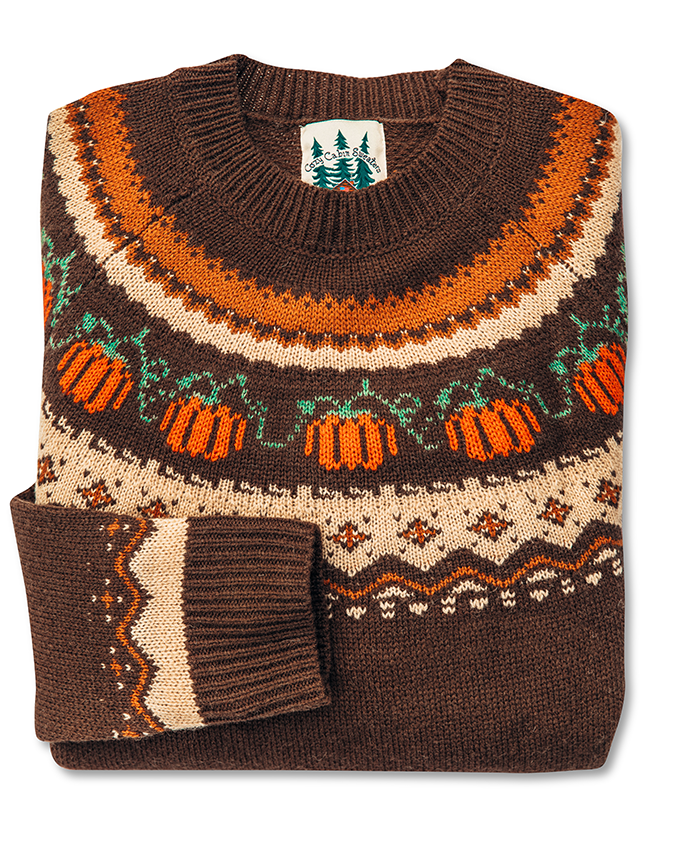 The Cozy Pumpkin Sweater