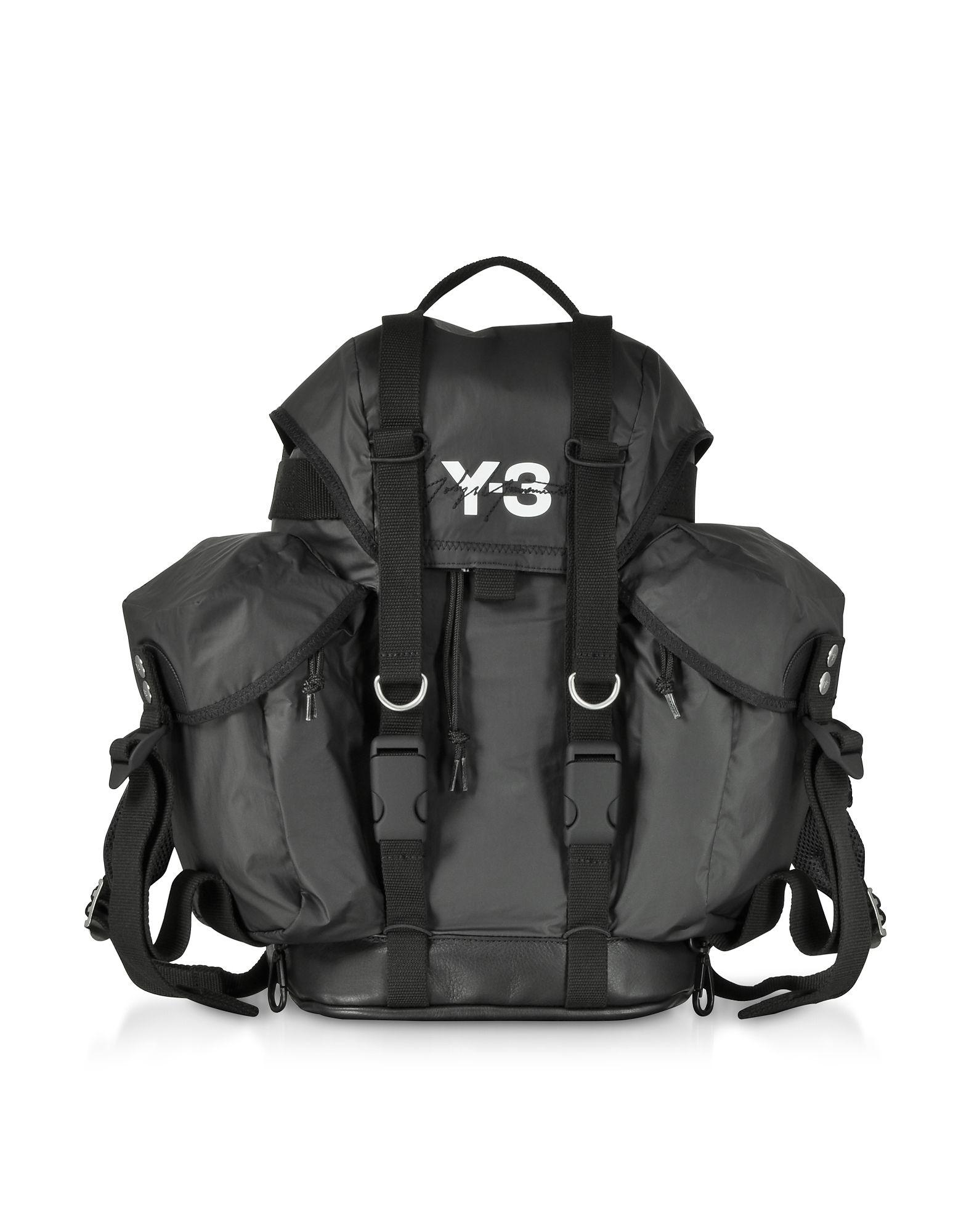 40712f4df3af Y-3 BLACK NYLON XS UTILITY BACKPACK. #y-3 #bags #nylon #backpacks ...