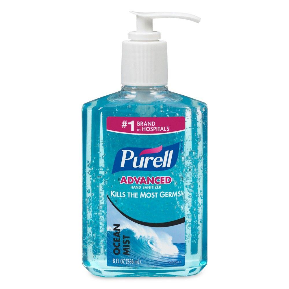 Purell Ocean Mist Hand Sanitizer 8 Fl Oz Hand Sanitizer Ocean