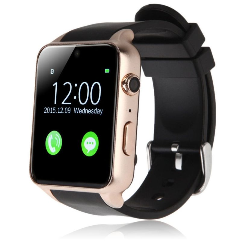 GT88 Waterproof Bluetooth Smart Watch Fitness Tracker Heart Rate Monitor Golden With full functionality and an elegant design, the GT88 Waterproof Fitness Tracker Heart Rate Monitor SIM Card NFC Bluetooth 4.0 Smart Watch for iPhone & Android is a wise choice for those who cares a...