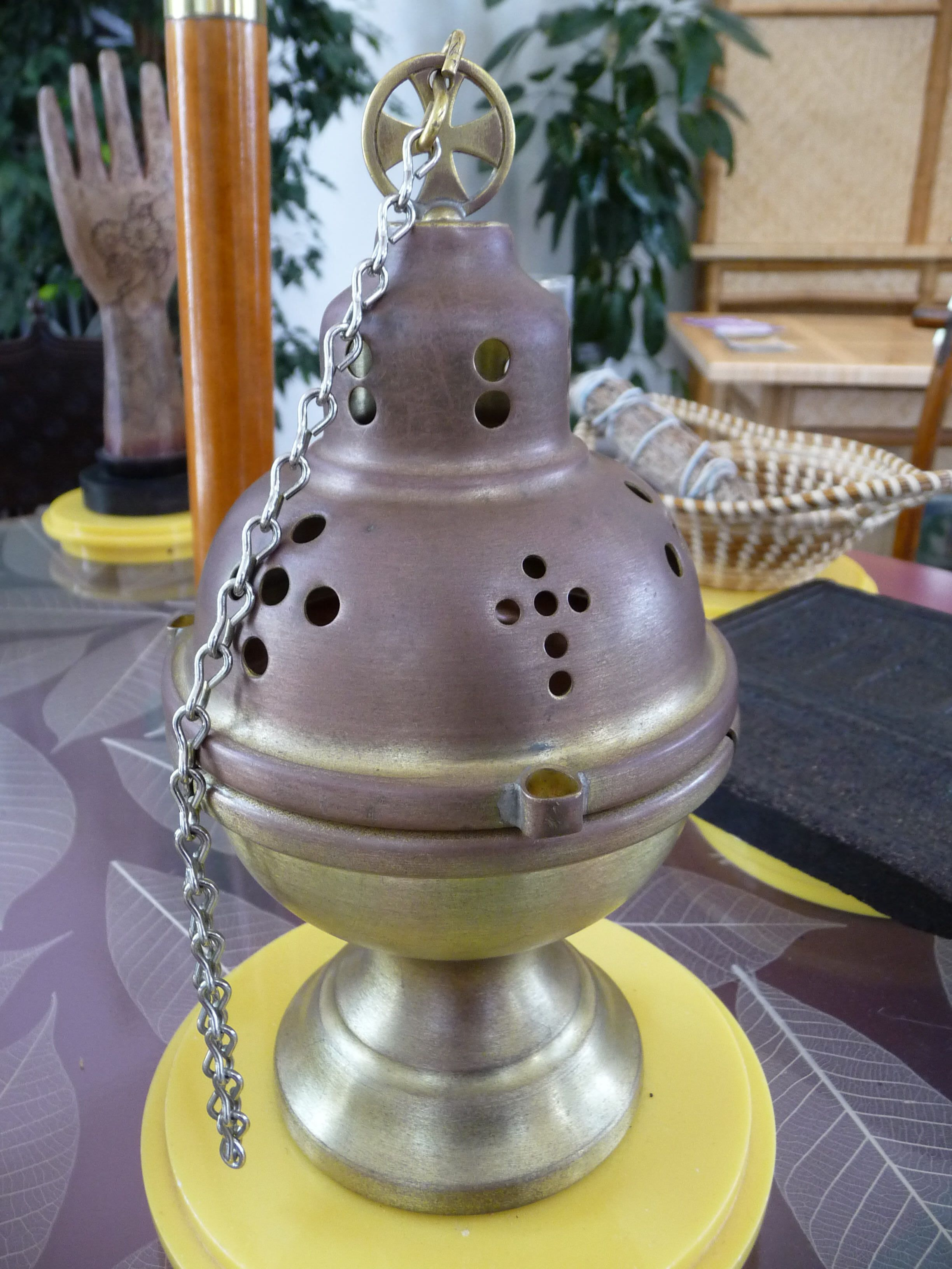 Four Chain Censer The Burning Of Incense Is An Ancient