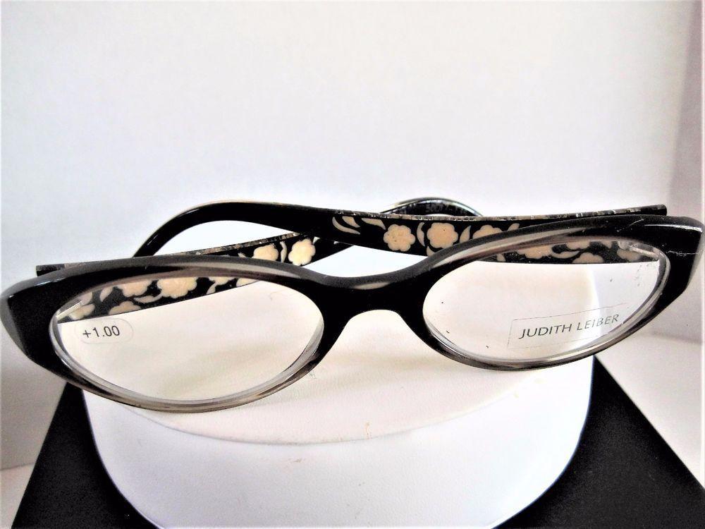 Judith Leiber JL1030 Green Jeweled Frames Eyeglass Eyewear NOS ...