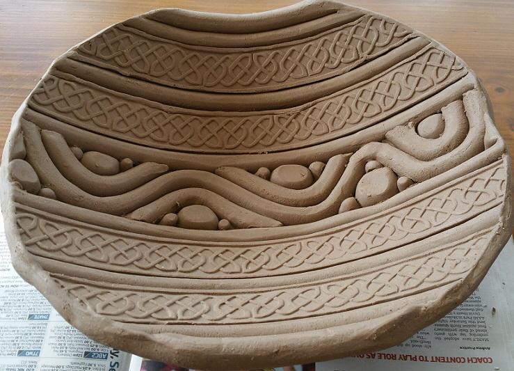 Latest slab bowls – Row's Pottery Shed