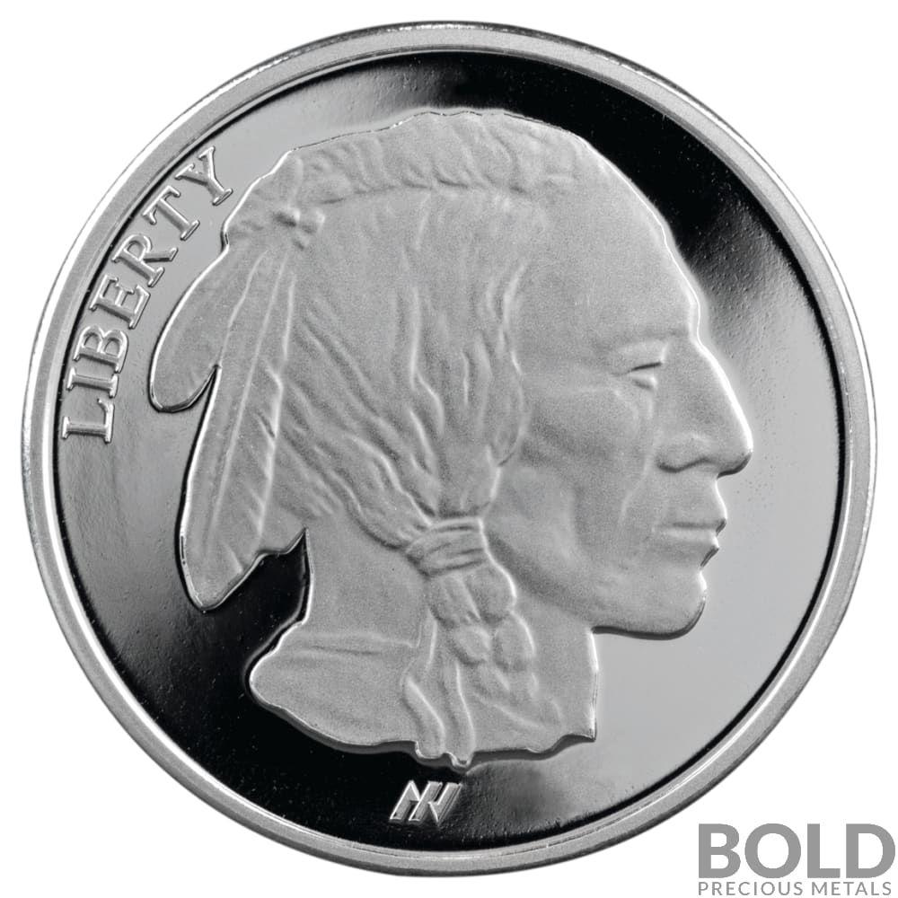 Silver 1 Oz Asahi Buffalo Round Proof Coin Bold Precious Metals Precious Metals Silver Rounds Silver Bullion