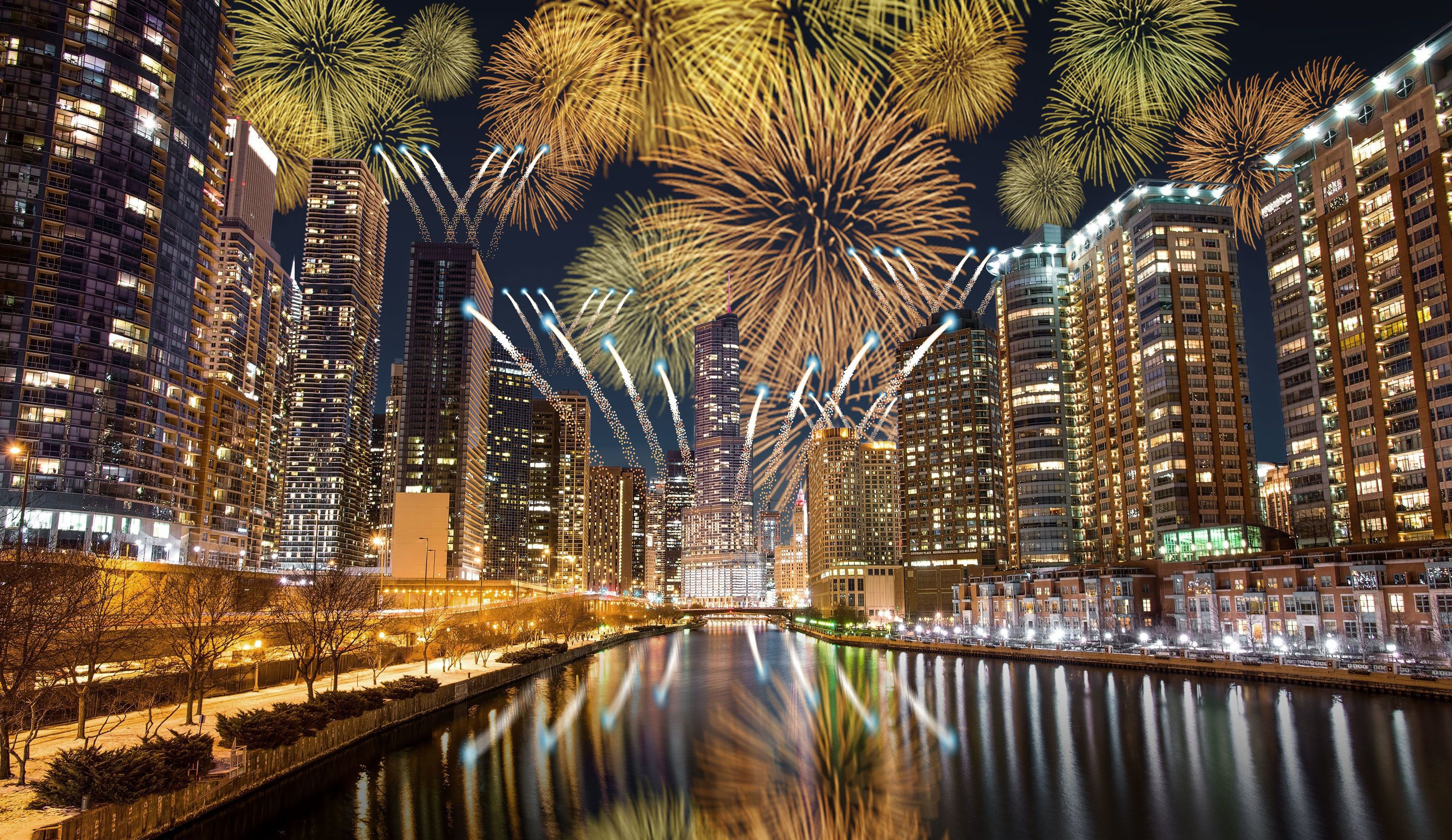 The World S Most Exciting New Year S Eve Celebrations New Years Eve Chicago New Years Eve Fireworks New Years Eve Events