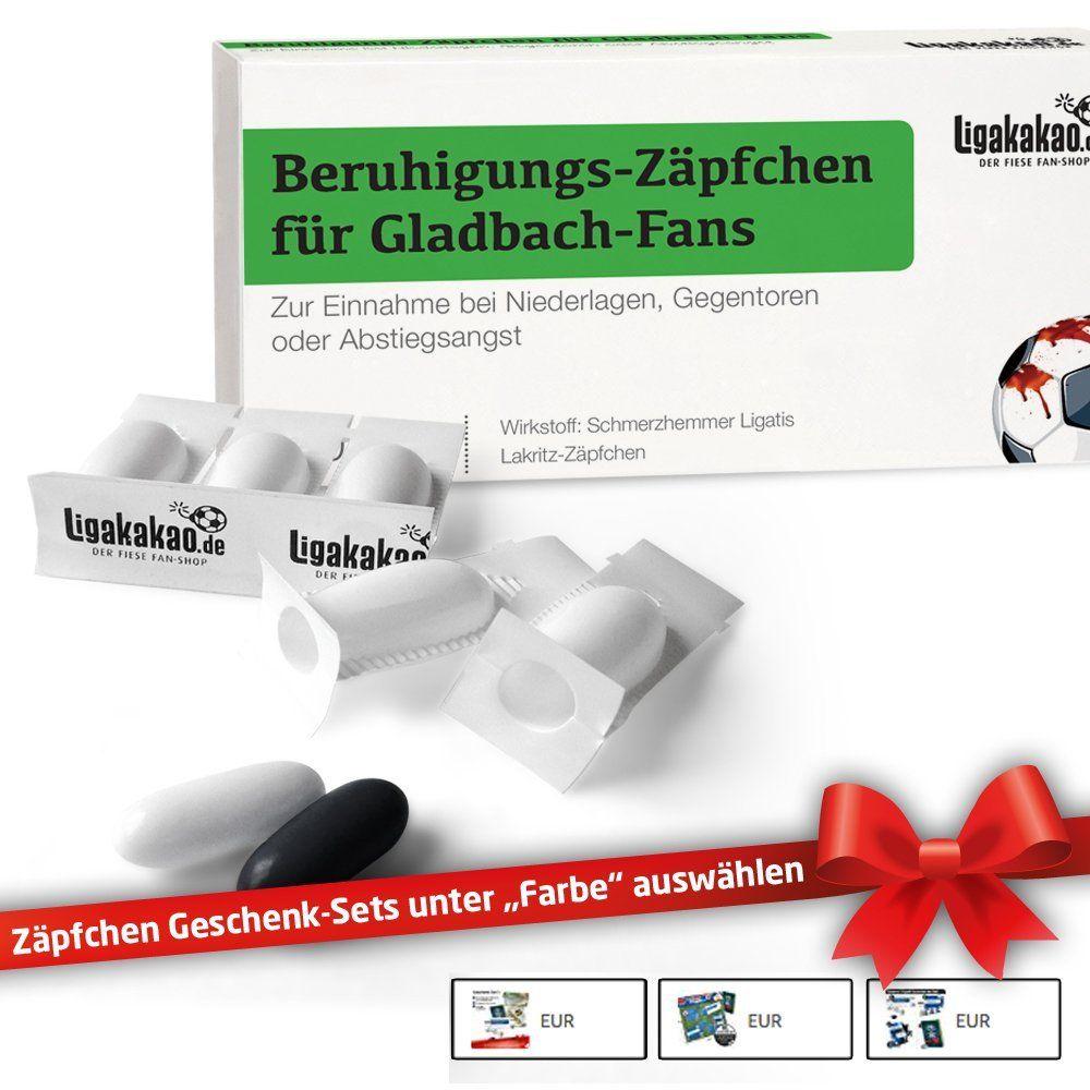 """Gegentoren /& Abstiegsangst Beruhigungs-Z/äpfchen/® f/ür Bochum-Fans Lakritz-Z/äpfchen f/ür Bochum-Fans zur Einnahme bei Niederlagen W/ähle unsere verr/ückten M/änner Geschenk-Sets /über /""""Farbe/"""" aus"""
