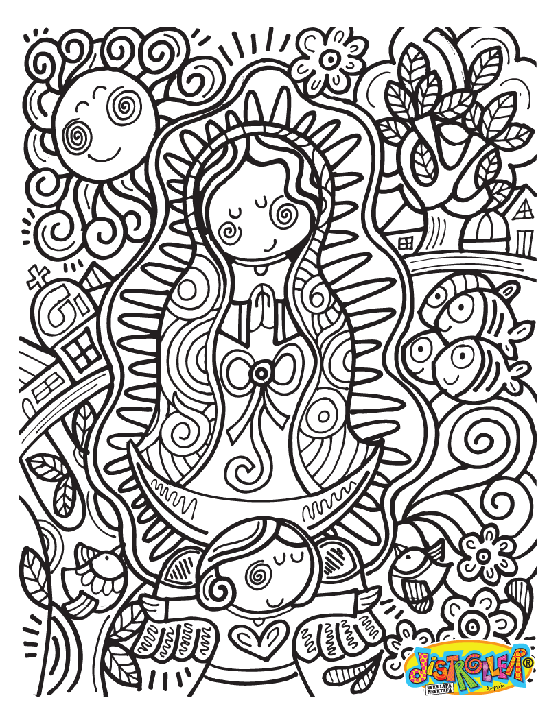 virgencita distroller | Virgin of Guadalupe | Pinterest | Communion ...