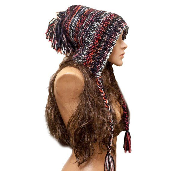 Instant Download Knitting Pattern - Slouchy Earflap Hat ...