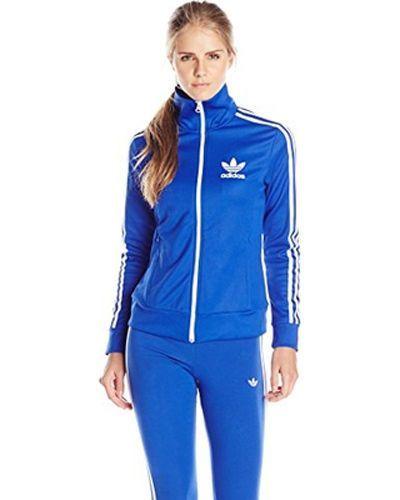 d9e5c8c225b Details about adidas Originals M30448 Women's Europa Track Top Bold ...