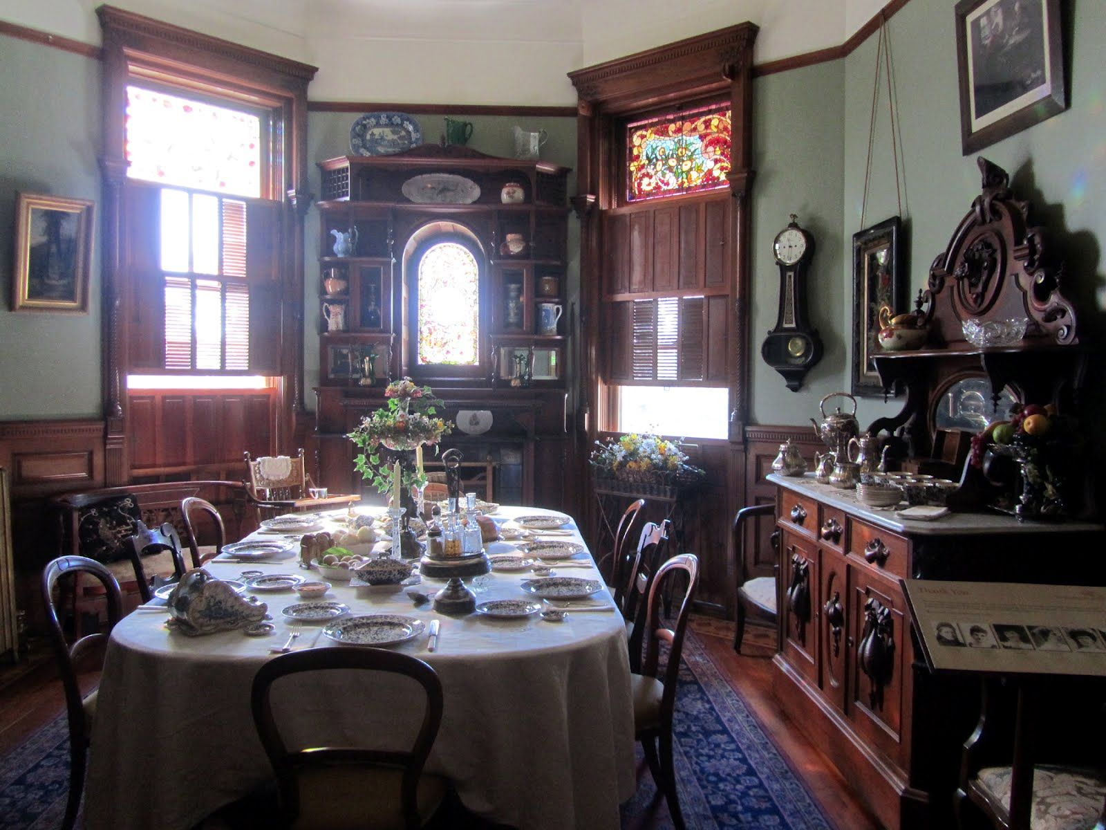 Victorian farmhouse pin it 1 like image victorian for Victorian house dining room ideas