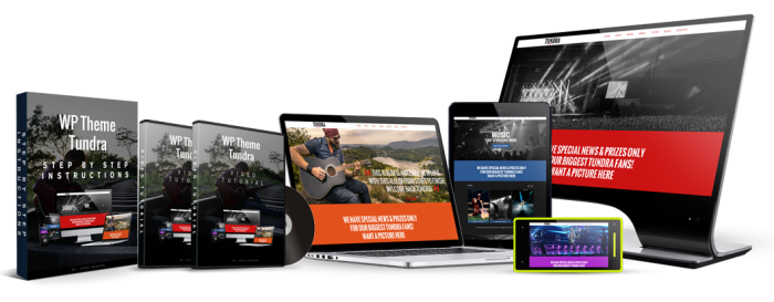 WP Tundra Event is a wordpress theme dedicated to music lovers, music bands, musicians, DJs, producers, film makers, labels or organizers of events and festivals. Perfect for the entertainment industry.