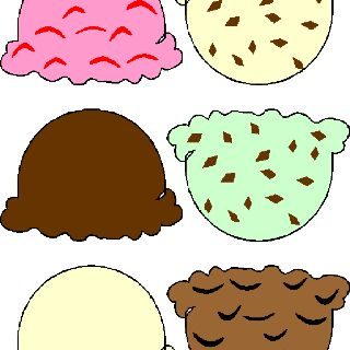 image regarding Printable Ice Cream Scoops named Ice product scoop printable - will retain the services of for a memory sport