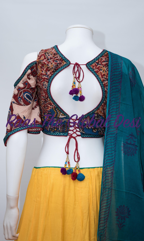 Indianclothing Newarrival Raastheglobaldesi Mehendi Navaratrichaniyacholi Chaniyacholi L Fancy Blouse Designs Trendy Blouse Designs Kurti Neck Designs