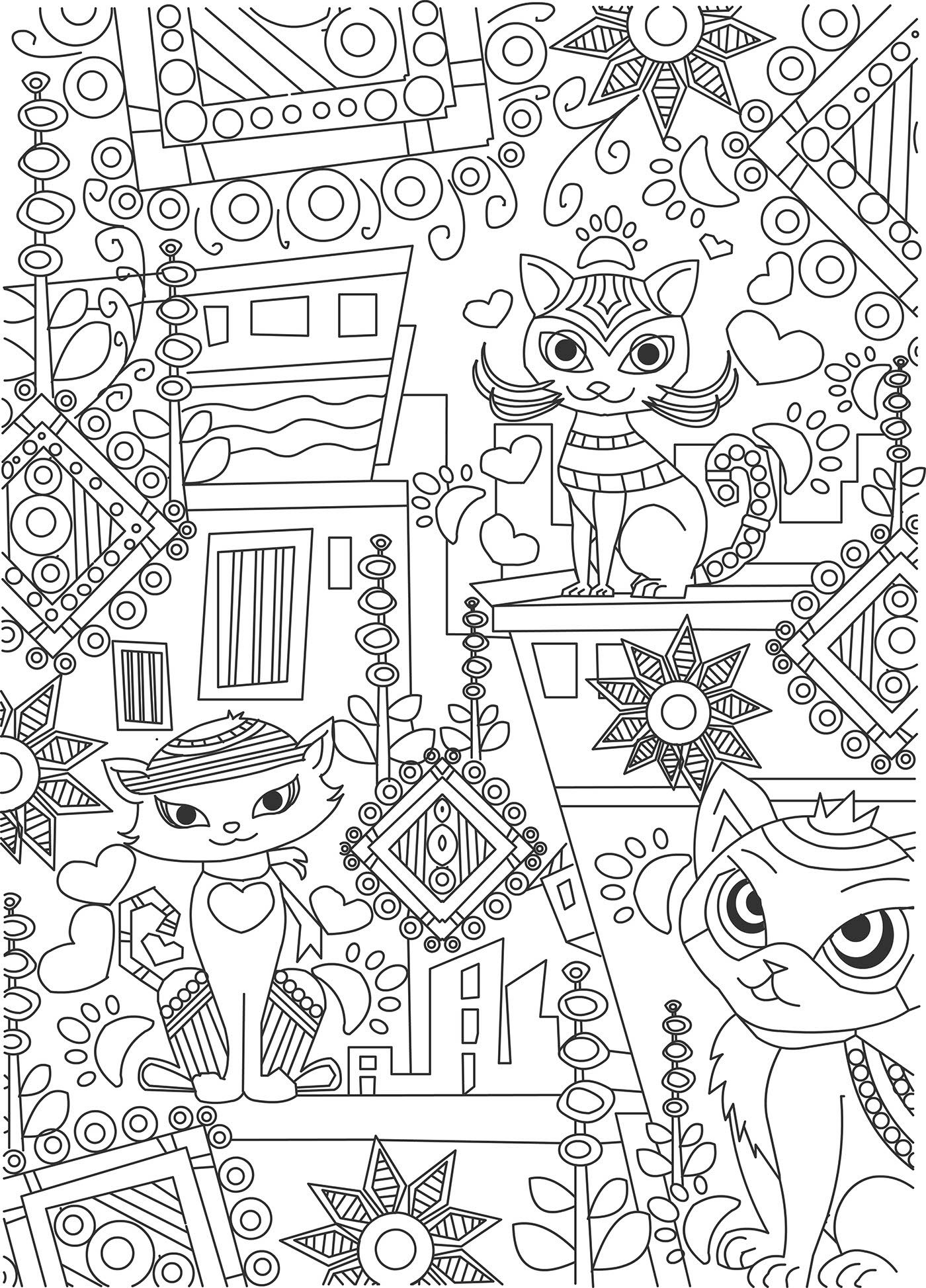 90 Ace Coloring Pages For Big Kids Large Book Letter D Fish Cool ...   1947x1400