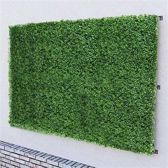 Delicieux Boxwood Artificial Outdoor Living Wall 48in.L X 36in.H | Living Walls,  Green Walls And Walls