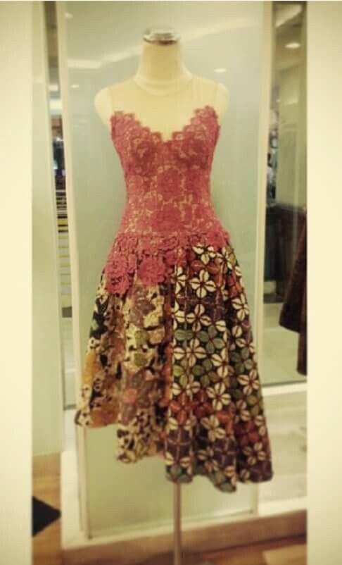 dress, top, blouse batik indonesia | Batik di 2019 | Gaun