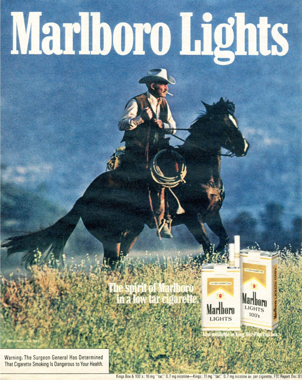 1981 Marlboro Lights | Digital Poster Collection