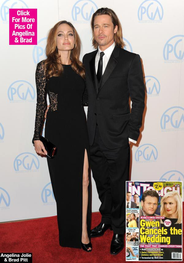 Brad Pitt & Angelina Jolie Split: Living Separate Lives For Over A Year — Report. #bradpitt #angelinajolie