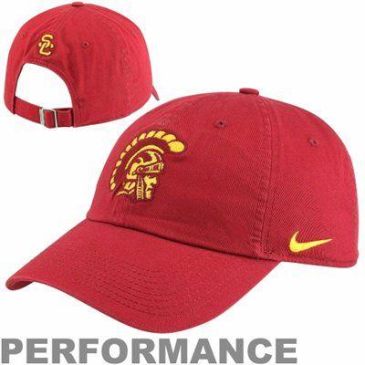 new styles b0b1a 3556d Nike USC Trojans Mascot Heritage 86 Adjustable Performance Hat - Cardinal