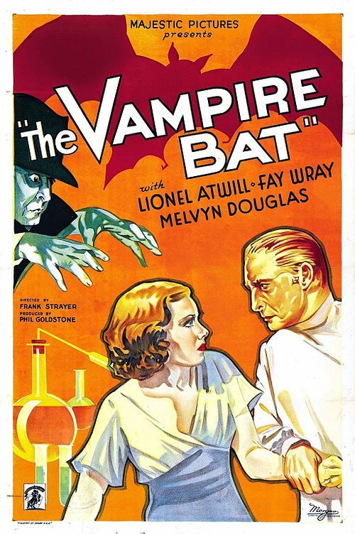 Public Domain Movies Feature Films Public Domain Movies Vampire Bat Vintage Movies Movie Posters Vintage
