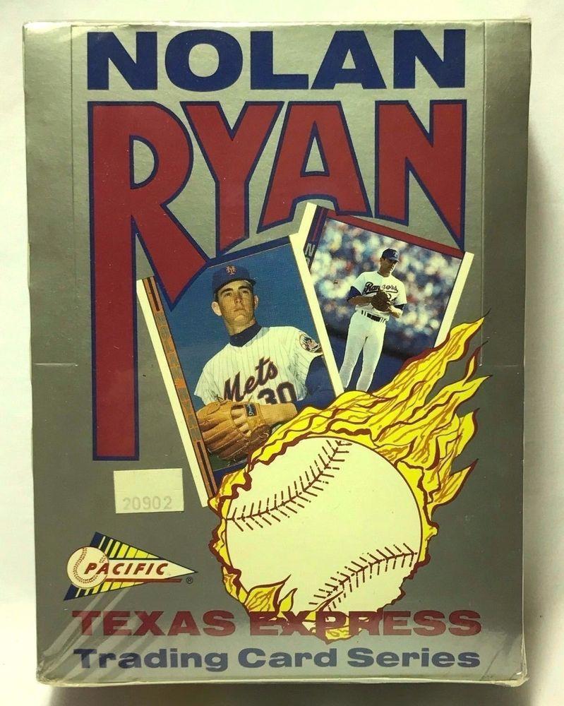 1991 pacific nolan ryan texas express baseball card sealed