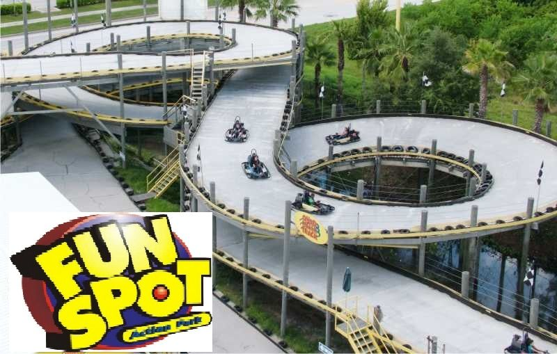 The Fun Spot With So Many Of The Coolest Go Cart Tracks Ever I Have So Many Wonderful Memories Of Times We Were Ther Go Kart Tracks Go Kart Go Kart Racing