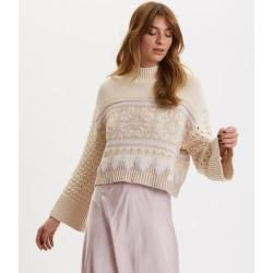 Photo of Magnetischer Jacquard Polopullover Odd Molly