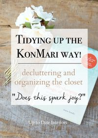 Decluttering and Organizing the Closet - Up to Date Interiors