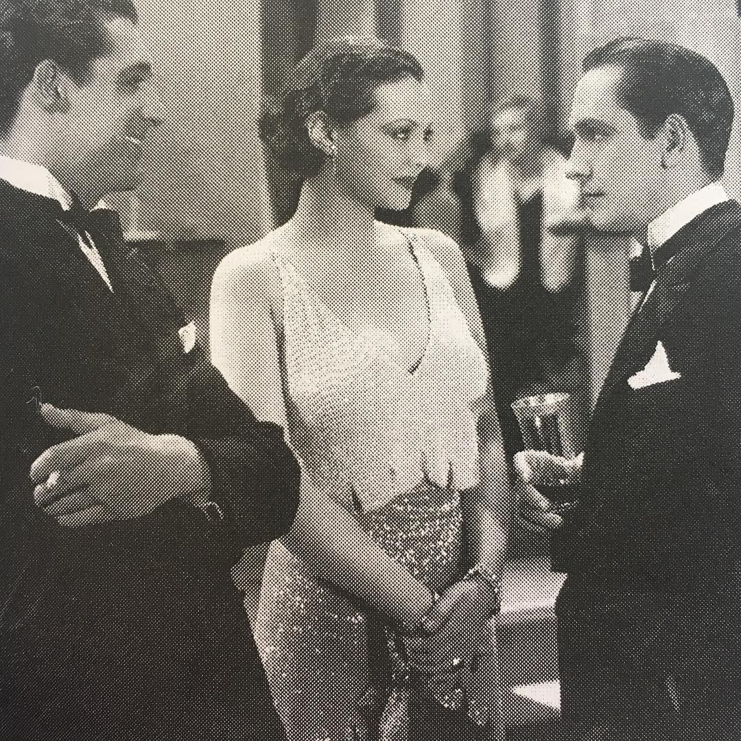"""Fredric March Cary Grant Sylvia Sydney """"Merrily We Go To Hell"""" 1932"""