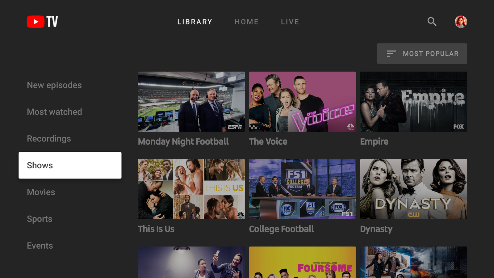 YouTube TV app arrives for newer Samsung smart TVs