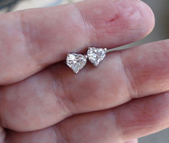 diamond earrings stud beautiful white pinterest rings house designs carat