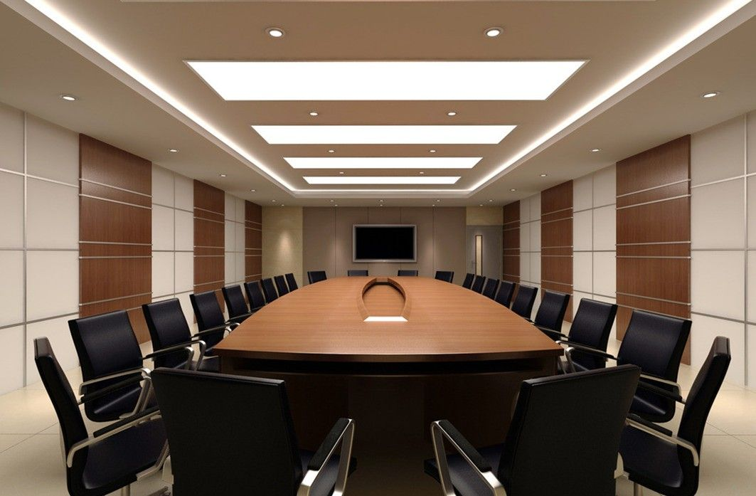 Minimalist charming meeting room interior design ideas for Meeting room interior design ideas