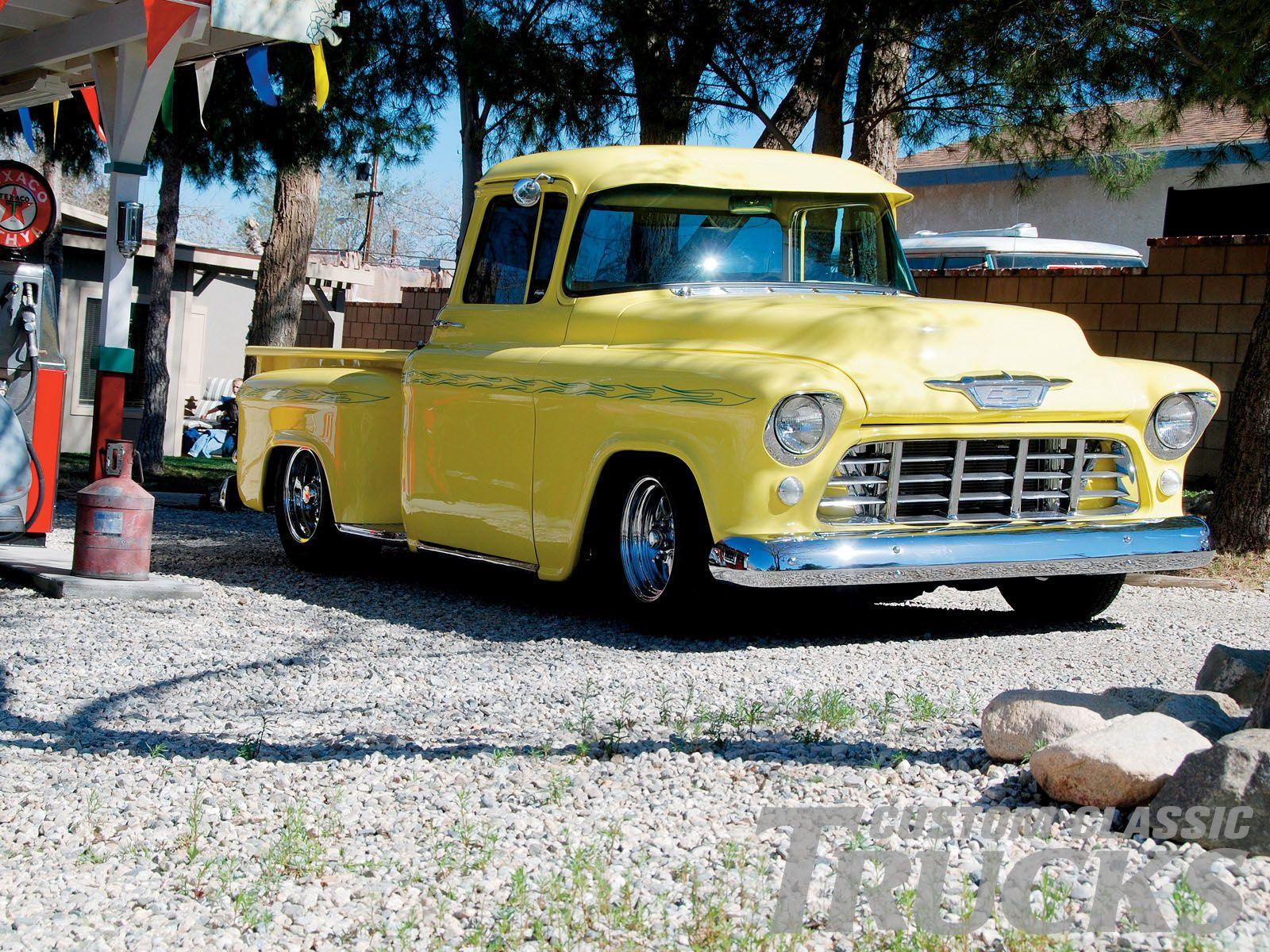 55 Chevy Pickup Classic Trucks Magazine 55 Chevy Classic Truck