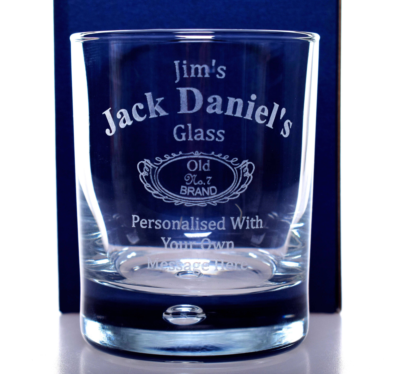 Engravedpersonalised new jack daniels glass tumbler