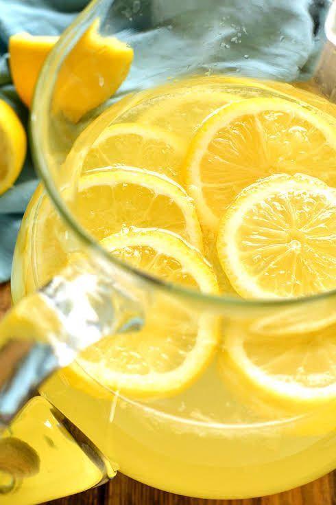 Lemon Meringue Sangria Lemon Meringue Sangria with Sauvignon Blanc, Lemonade, Whipped Cream Flavored Vodka, Limoncello, Water, Sugar, Lemon, Lemons.