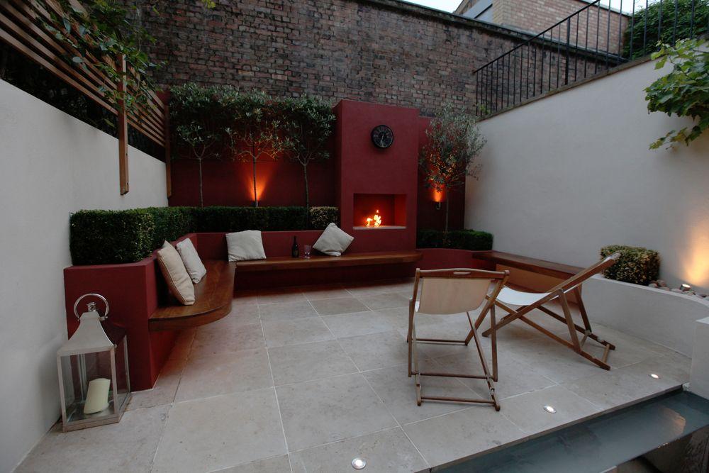 Angel Fireside Angel Islington N1 Modern Garden Design Modern Garden Garden Design London