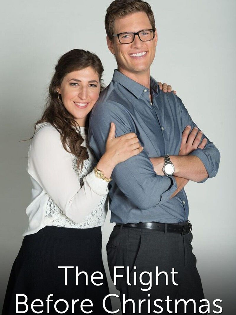 The Flight Before Christmas Mayim Bialik & Ryan Mcpartin Lifetime ...