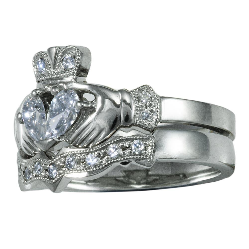 Claddagh Wedding Ring Sets