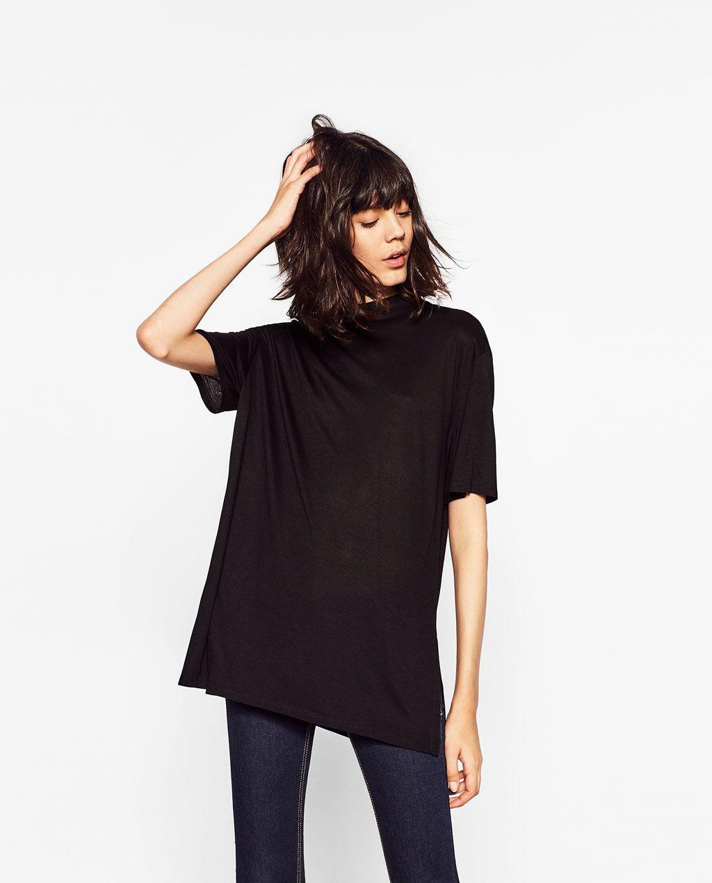 a3ab46ff946223 WIDE CUT PLUSH DRESS-SPECIAL PRICES-WOMAN | ZARA Canada | Clothing ...
