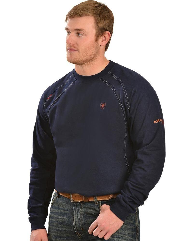 Ariat Men's Flame Resistant Workwear Crew Long Sleeve T