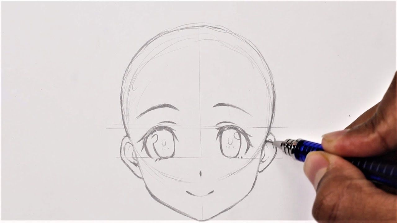 How to draw anime basic anatomy anime drawing tutorial