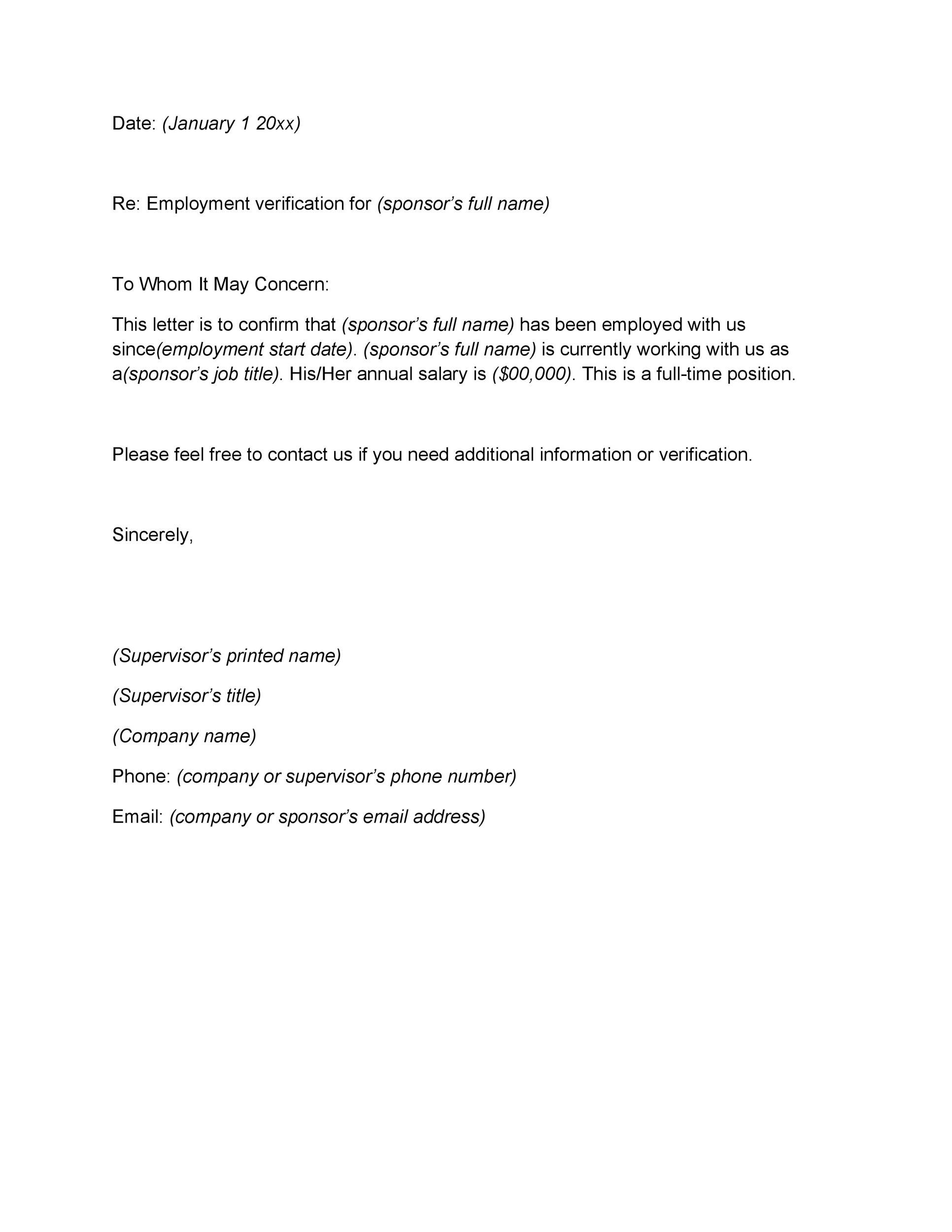 Download Proof Of Employment Letter Template 15 In 2021 Letter Of Employment Employment Letter Sample Letter Of Employment Template