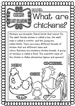 Henny Penny Worksheets Kindergarten
