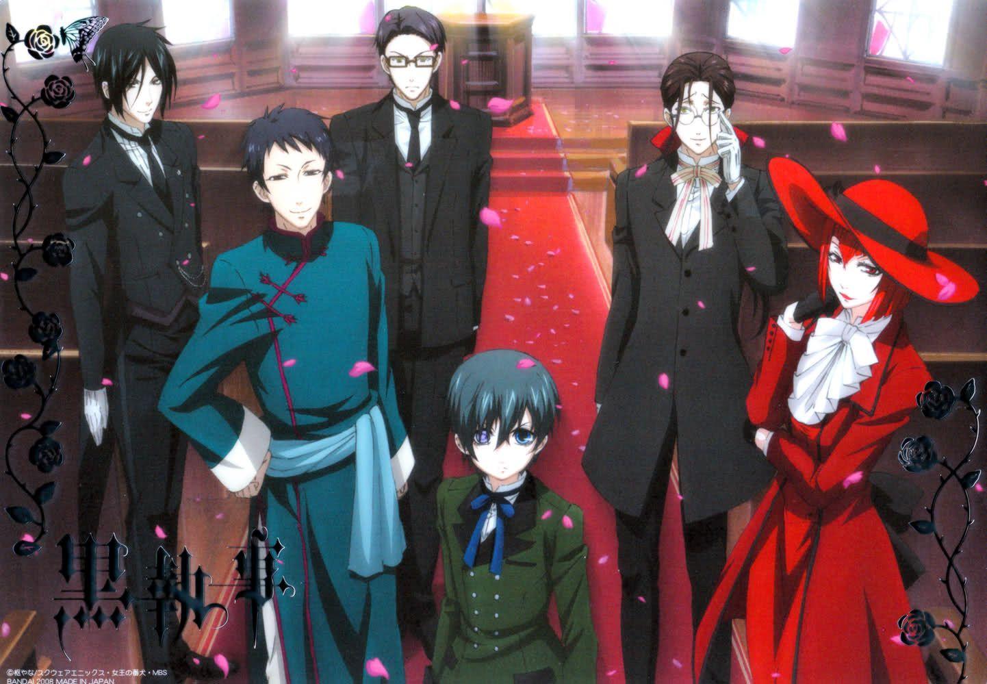 Kuroshitsuji anime ile ilgili görsel sonucu