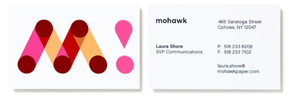Mohawk Paper Michael Bierut Of Pentagram Michael Bierut Business Card Design Rebranding