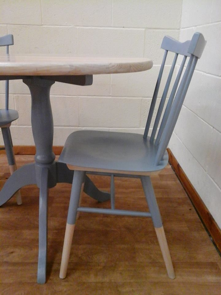 Marvelous White Washed Up Cycled Pine Table With Beech Chairs With Customarchery Wood Chair Design Ideas Customarcherynet