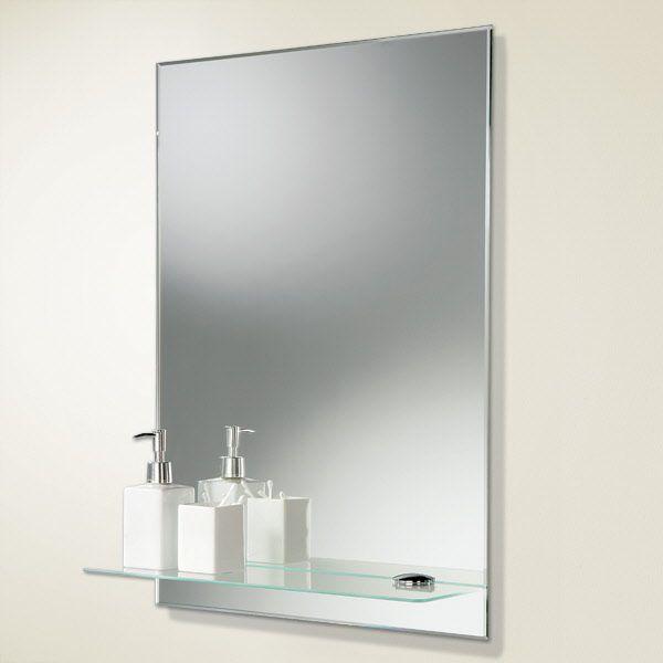 Ordinaire Bathroom Mirrors With Shelf