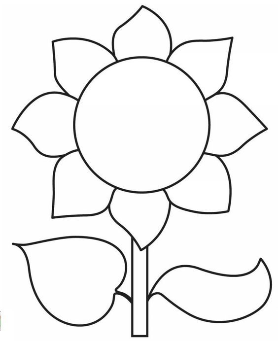 photograph about Sunflower Template Printable known as Pin via Coloring Exciting upon Bouquets and Vegetation Sunflower