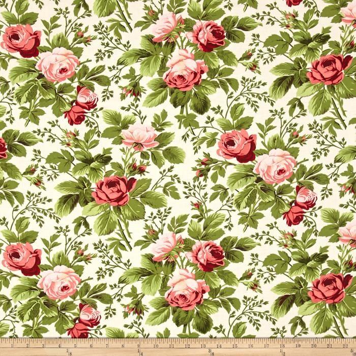 by 1//2 yard MODA Fabric ~ ROSES /& CHOCOLATE II ~ Sentimental Studios 33274 11